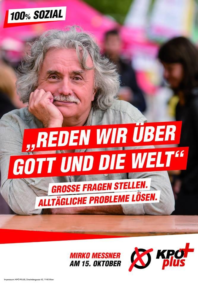 Plakat Mirko Messner