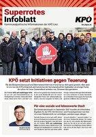 Das superrote Infoblatt der KPÖ Linz