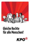 Plakat Gleiche Rechte für alle Menschen!