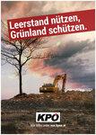 Leerstand nützen, Grünland schützen