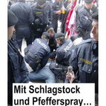 Polizeigewalt am 1. Mai 2009 in Linz: Mit Schlagstock und Pfefferspray…