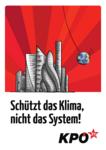 Plakat Schützt das Klima, nicht das System!